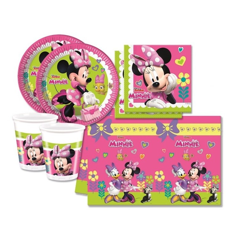 KIT N 3 - COORDINATO MINNIE HAPPY HELPERS DISNEY