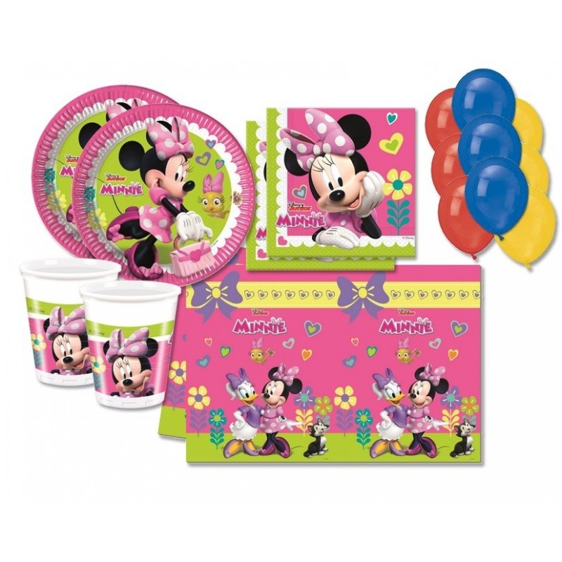KIT N 4 - MINNIE HAPPY HELPERS ADDOBBI COMPLEANNO