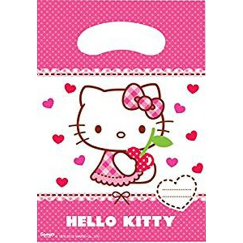BUSTINE PER REGALINI HELLO KITTY 6 pz