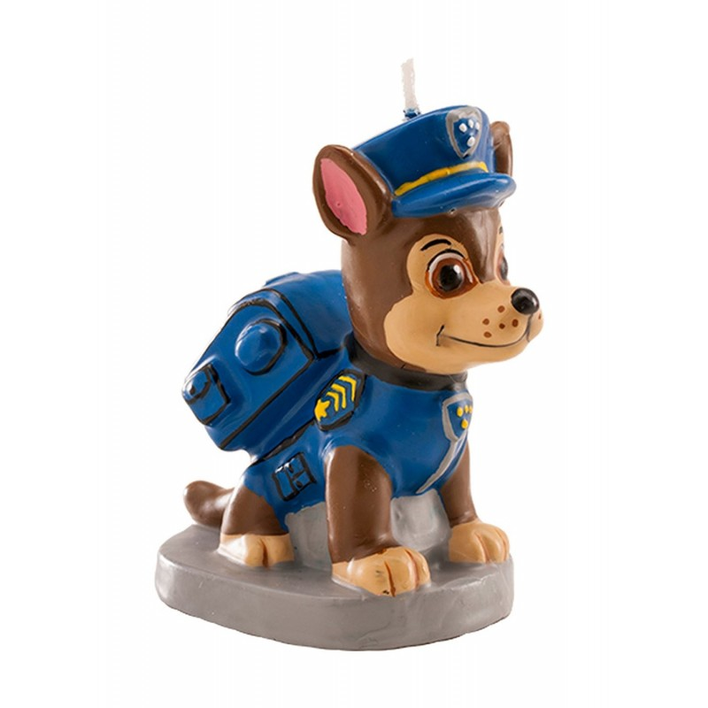 CANDELINA COMPLEANNO SAGOMATA CHASE PAW PATROL 346170
