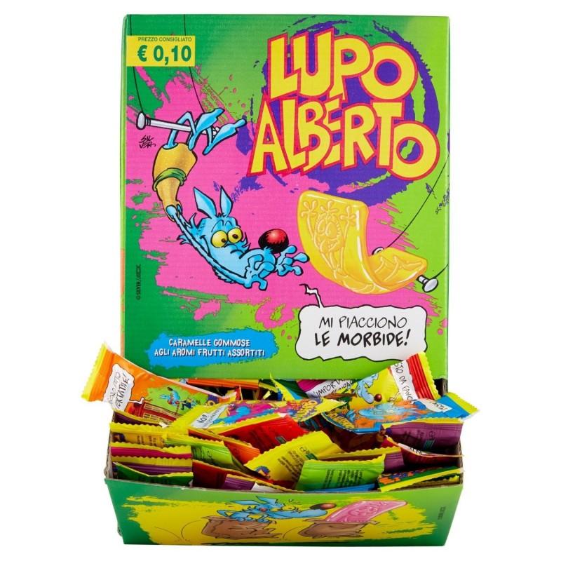 CARAMELLE GOMMOSE LUPO ALBERTO ESPOSITORE 200 PZ
