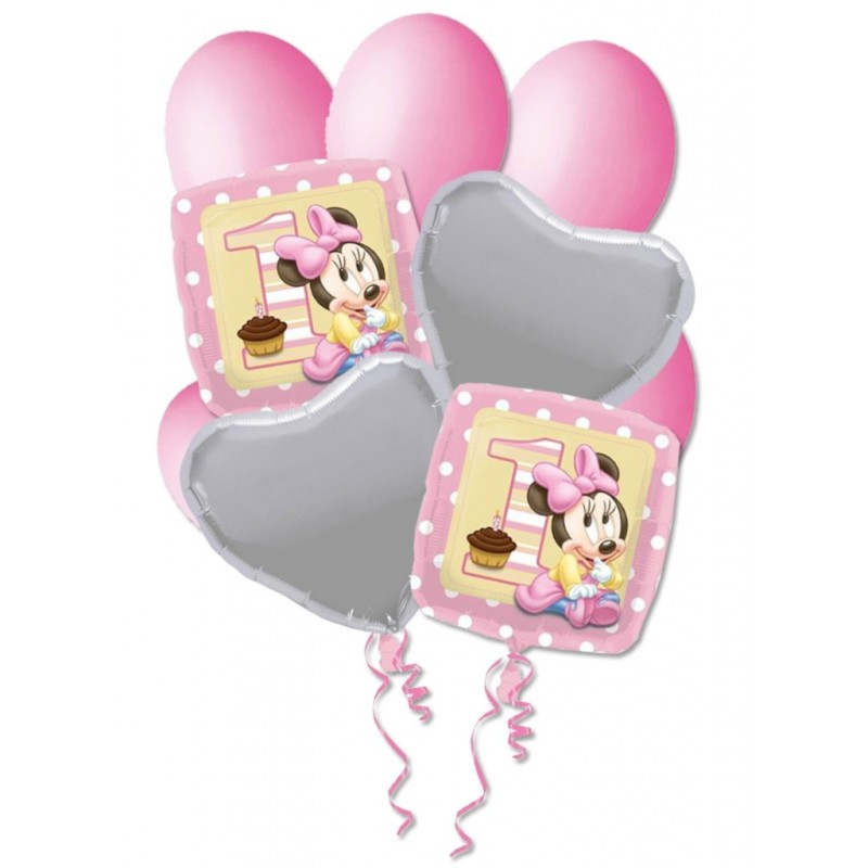 BOUQUET PALLONCINI N 9 - MINNIE BABY