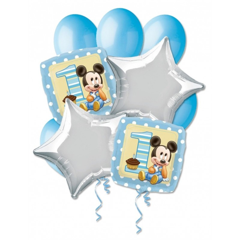 BOUQUET PALLONCINI N 9 - TOPOLINO BABY