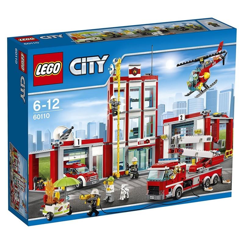 LEGO - CITY FIRE - CASERMA DEI POMPIERI 60110