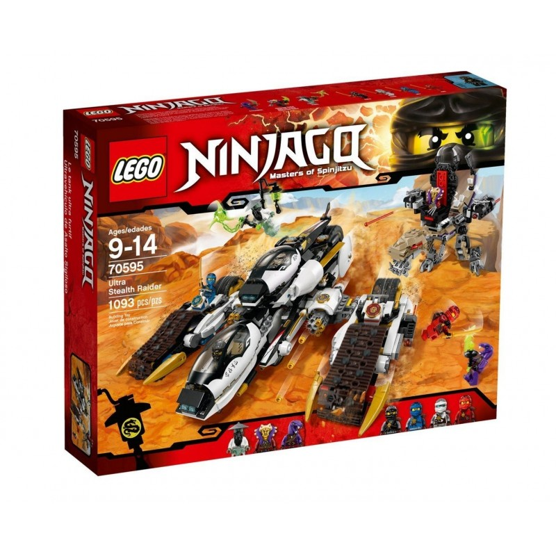 LEGO - NINJAGO - RAIDER ULTRA SONICO 70595