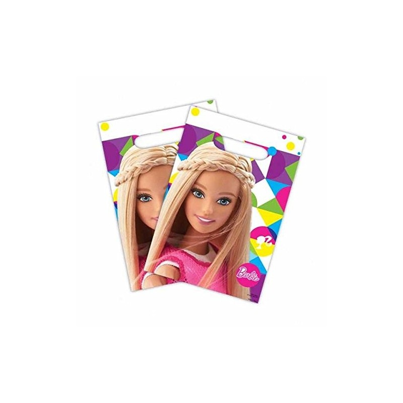BUSTINE PER REGALINI BARBIE PARTY BAGS 8 PZ