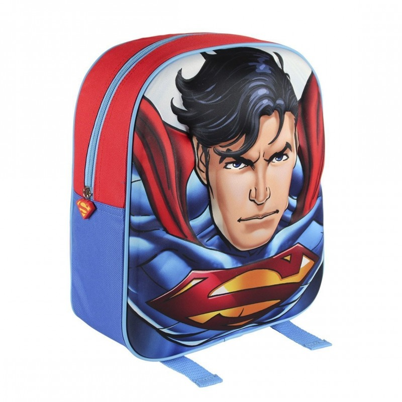 ZAINETTO SUPERMAN 3D CON SAGOMA IN RILIEVO 2100001568