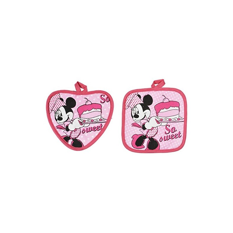 SET 2 PRESINE MINNIE DISNEY CHEF D88076