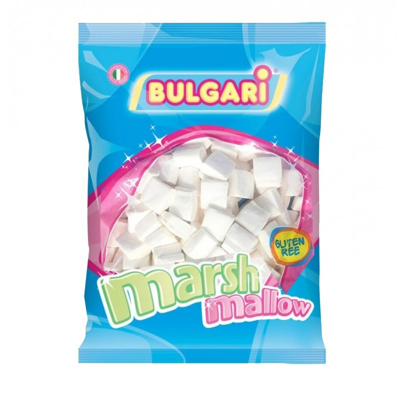BULGARI MARSHMALLOW MINI QUADRATINO BIANCO 1 KG ESTRUSO
