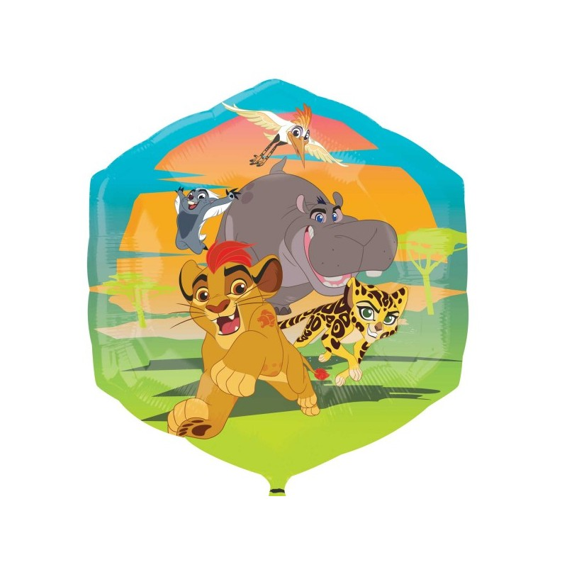 PALLONCINO SUPERSHAPE RE LEONE THE LION GUARD - IL RITORNO DEL RUGGITO 34645