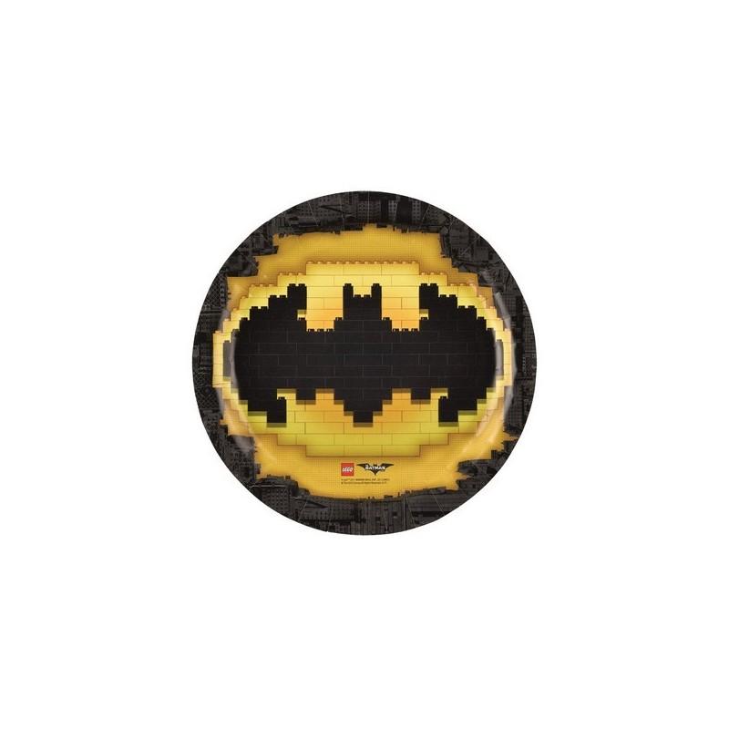 PIATTI LEGO BATMAN 8 PZ