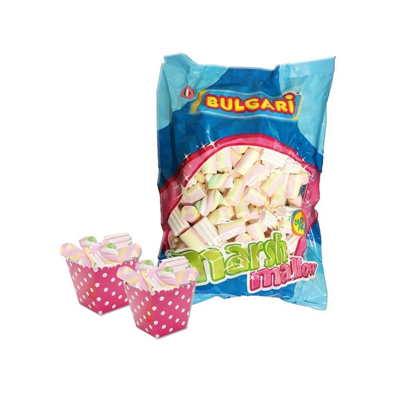 24 SCATOLINE BOX + 1 KG DI MARSHMALLOW MIX BIANCO ROSA ESTRUSO 0338