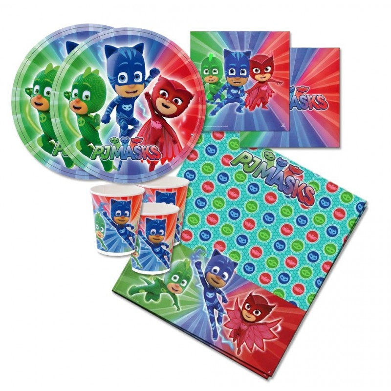 KIT N.16 SUPER PIGIAMINI PJMASKS