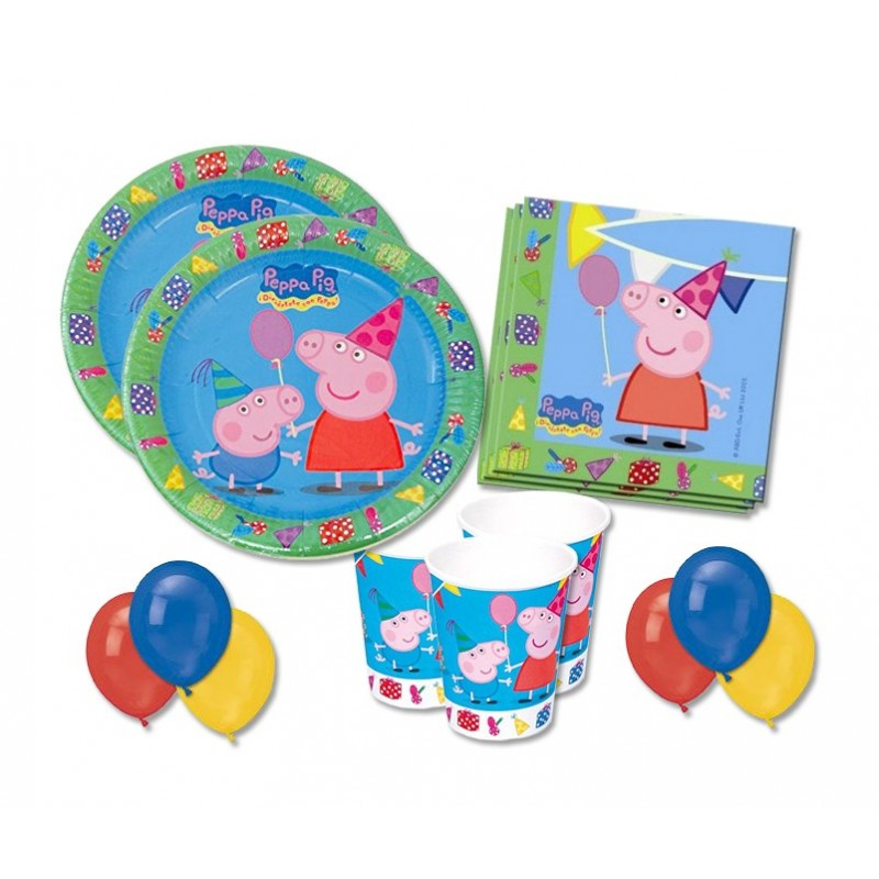 KIT N 22 - ACCESSORI FESTA GEORGE PEPPA PIG