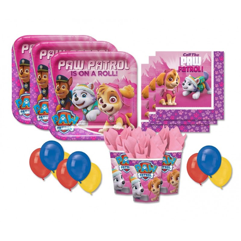 KIT N 22 - ACCESSORI FESTA PAW PATROL GIRL - PINK