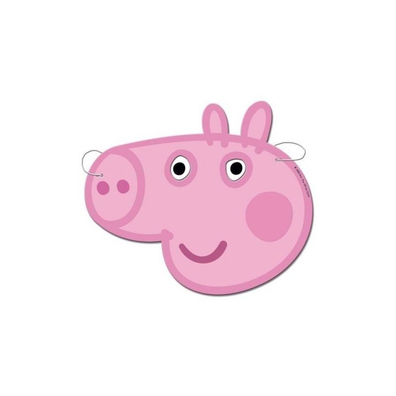 MASCHERINE PEPPA PIG IN CARTONCINO 6 PZ 016000733