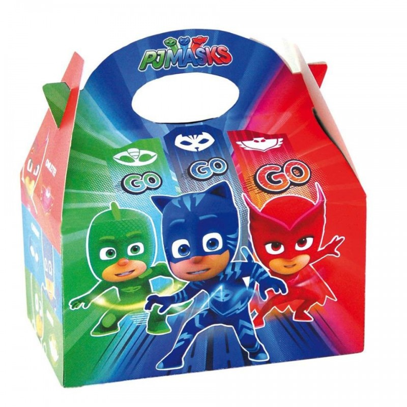 10 SCATOLE BOX SUPER PIGIAMINI CONTENITORI GADGET 00160013007