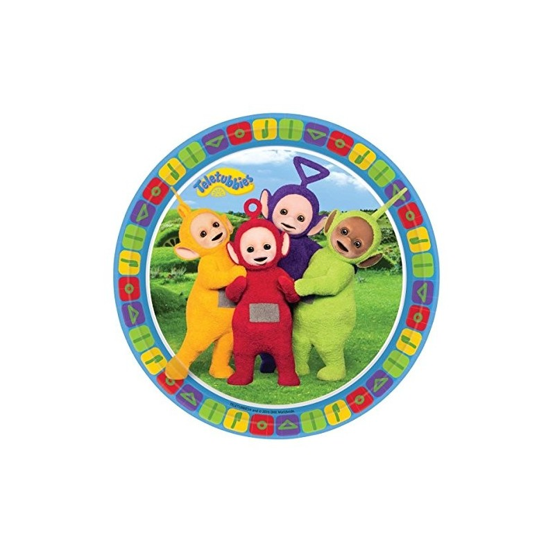 PIATTINI DESSERT TELETUBBIES 40 PZ