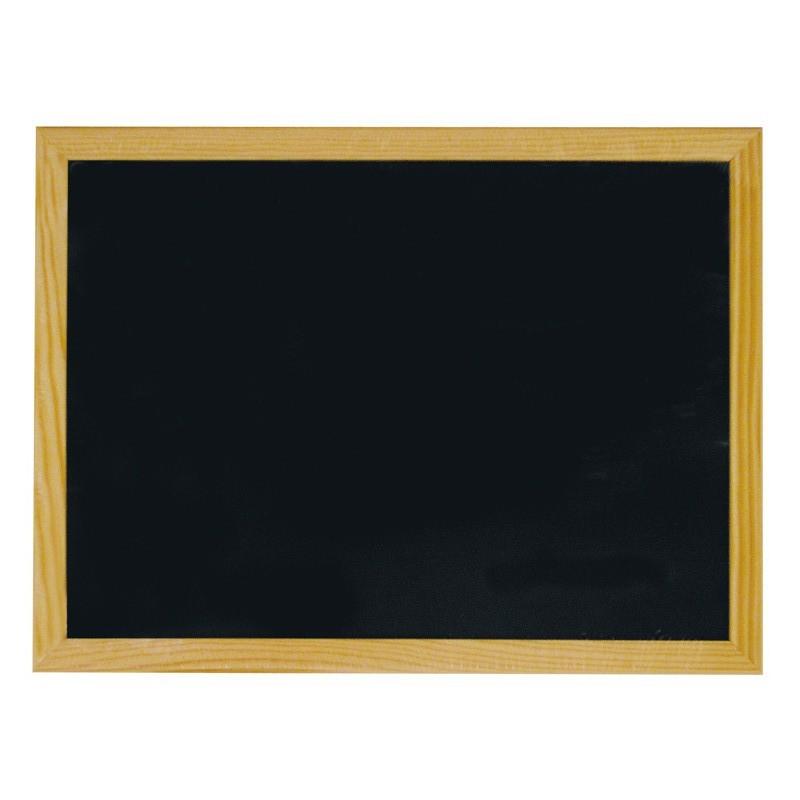 LAVAGNA CON CORNICE IN LEGNO 45 x 35 cm 7016