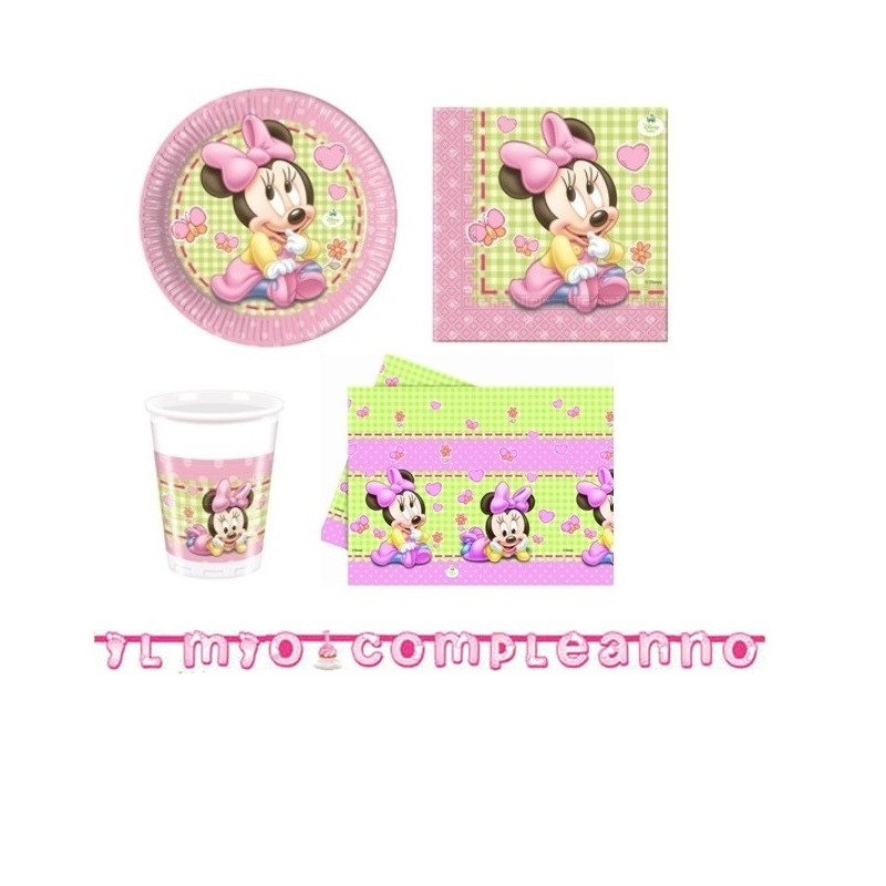 kit minnie baby per bambina