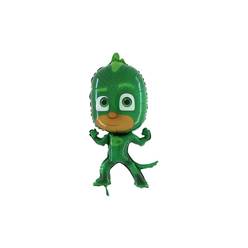 PALLONCINO FOIL SUPERSHAPE GECO - SUPER PIGIAMINI - PJ MASKS