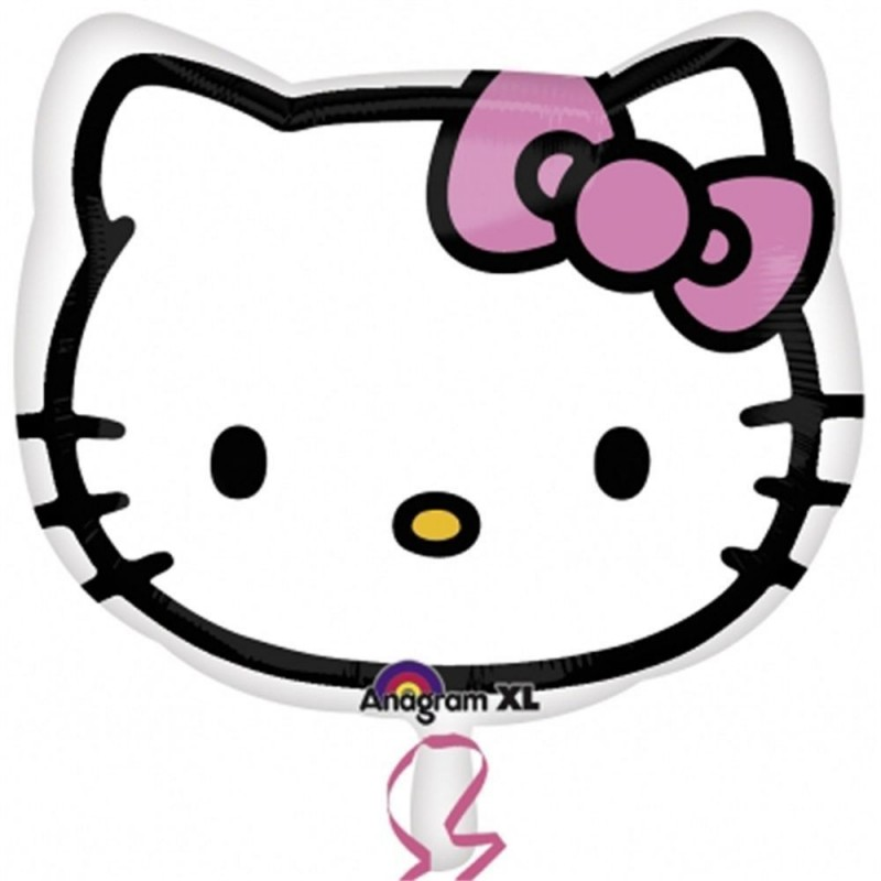 PALLONCINO FOIL HELLO KITTY 21842
