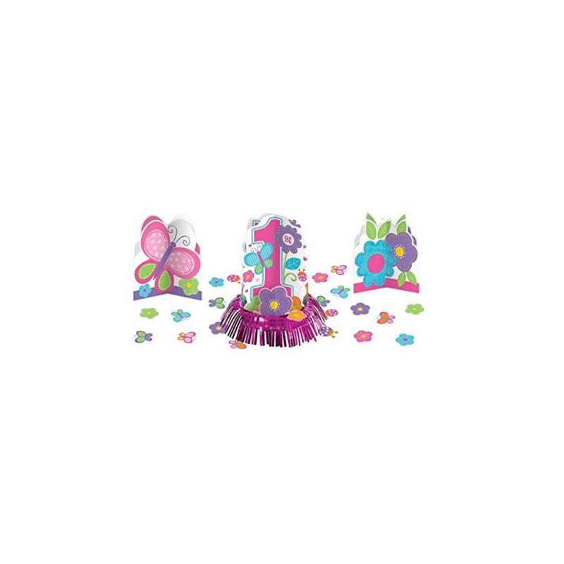 DECORAZIONI CENTROTAVOLA 1 ANNO BIRTHDAY GIRL 280032
