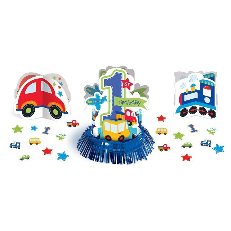 DECORAZIONI CENTROTAVOLA 1 ANNO BIRTHDAY BOY 280033