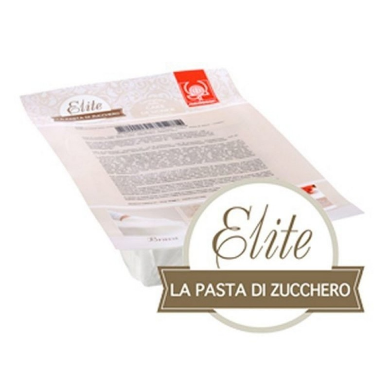 PASTA DI ZUCCHERO ELITE MODECOR BIANCA PANETTO DA 1 KG 25428
