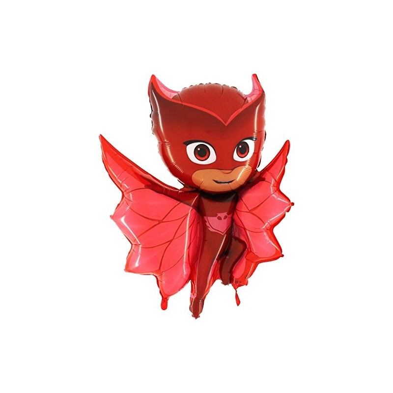 PALLONCINO FOIL SUPERSHAPE GUFETTA - SUPER PIGIAMINI - PJ MASKS