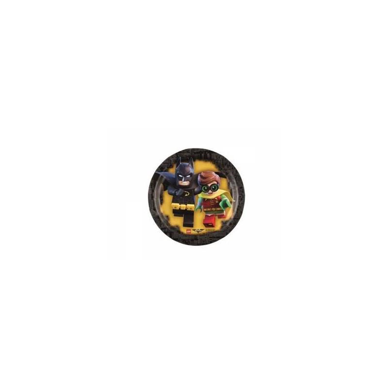 PIATTINI DESSERT LEGO - BATMAN 40PZ
