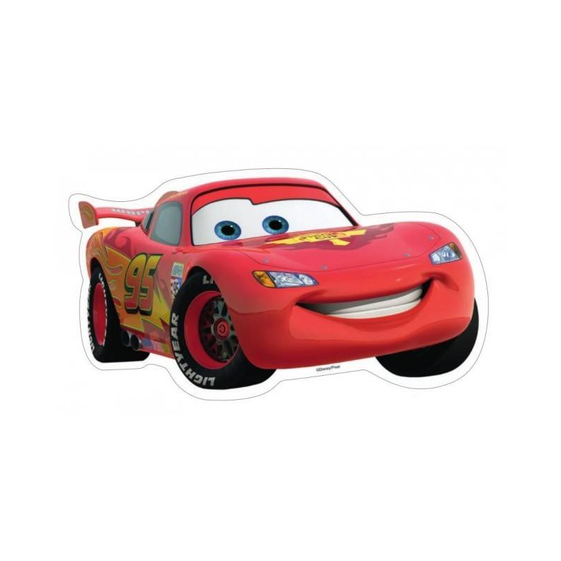 CIALDA SAGOMATA PER TORTA DISNEY CARS 72191