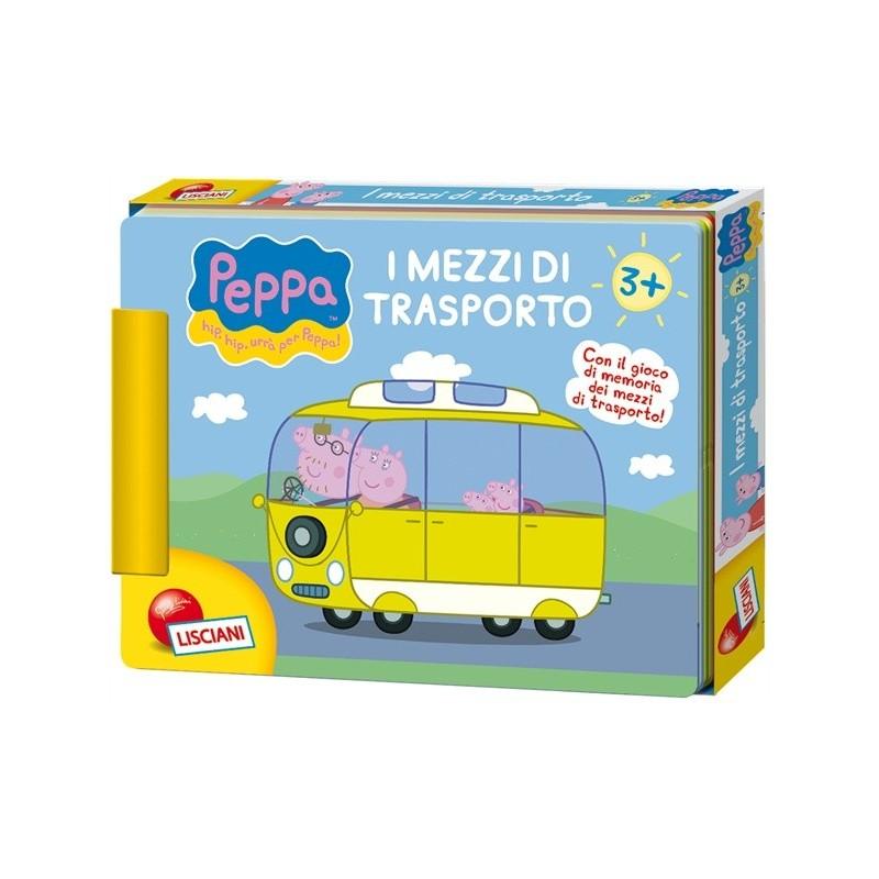 PEPPA PIG LIBRO-GIOCO MEZZI DI TRASPORTO 05674 LISCIANI
