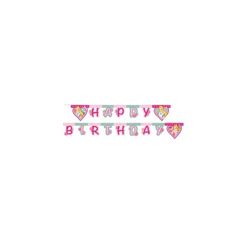 GHIRLANDA HAPPY BIRTHDAY ALICE NEL PAESE DELLE MERAVIGLIE