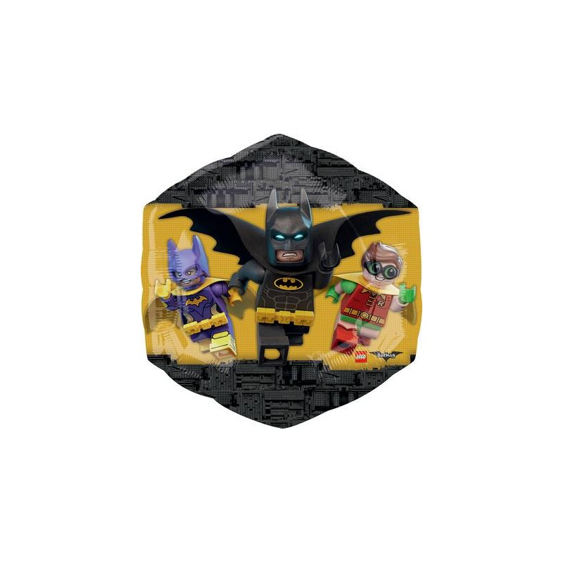 PALLONCINO FOIL SUPERSHAPE LEGO BATMAN 35867