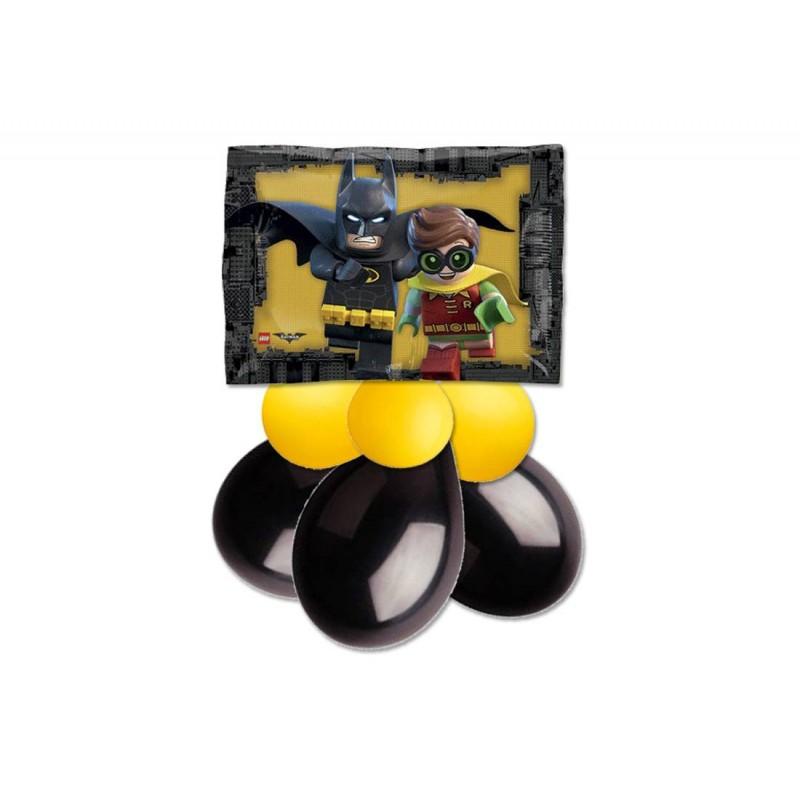 CENTROTAVOLA PALLONCINI LEGO BATMAN FOIL