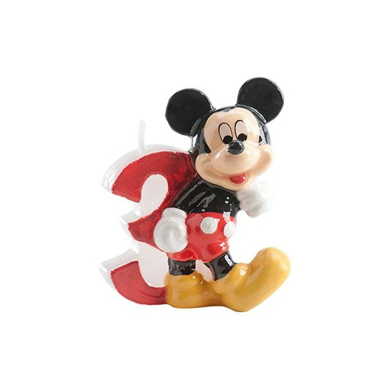CANDELINA COMPLEANNO N 3 TOPOLINO MICKEY MOUSE 346143