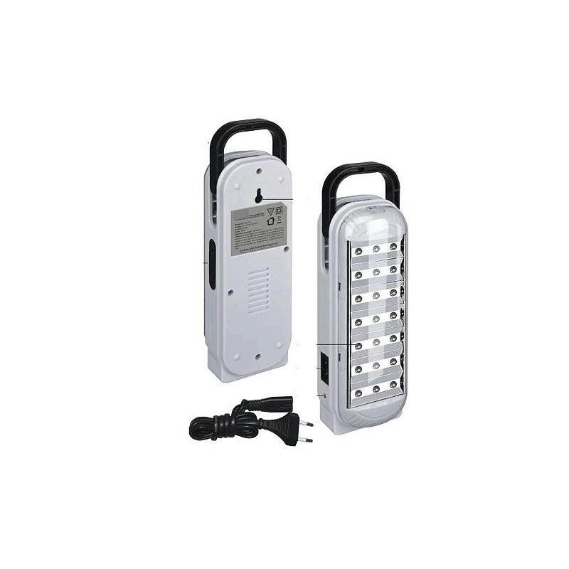 LAMPADA DI EMERGENZA RICARICABILE 21 LED