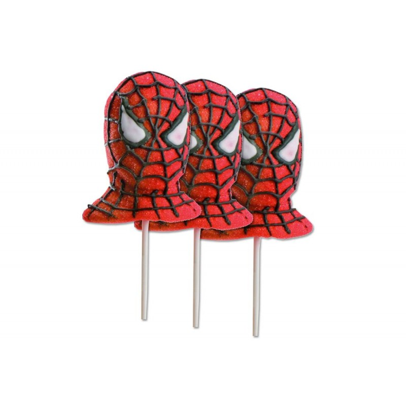 LECCA LECCA DI MARSHMALLOW SPIDERMAN 6 PZ MALLOW POP