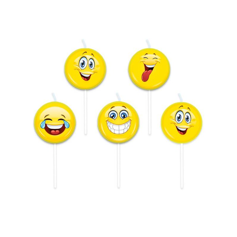 CANDELINE MAXI EMOTICON SMILE 73410