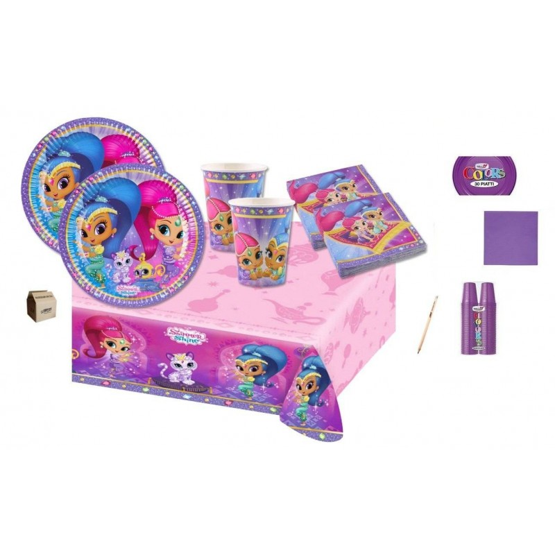 KIT N.7 COMPLEANNO SHIMMER & SHINE + MONOCOLORE VIOLA