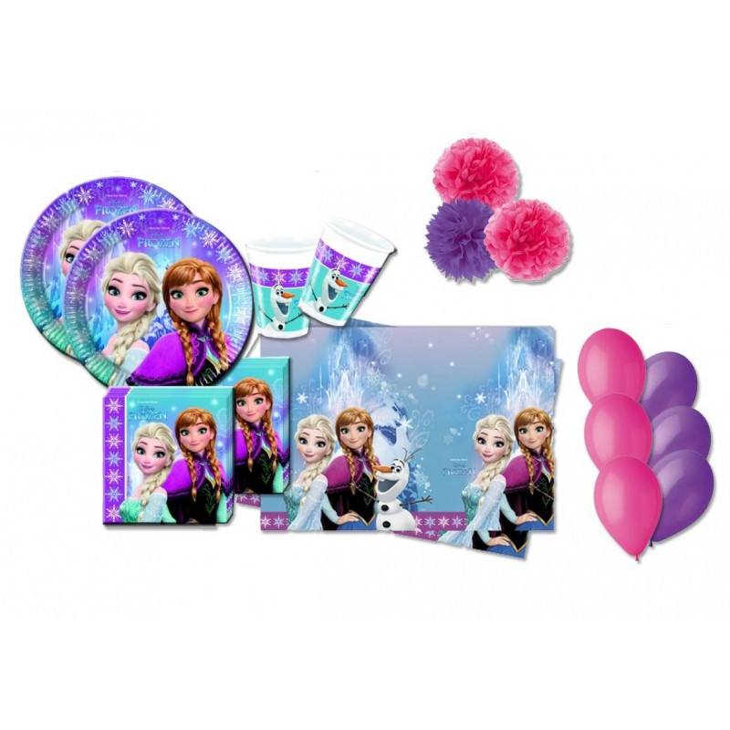 KIT COMPLEANNO N.49 FROZEN NORTHEN