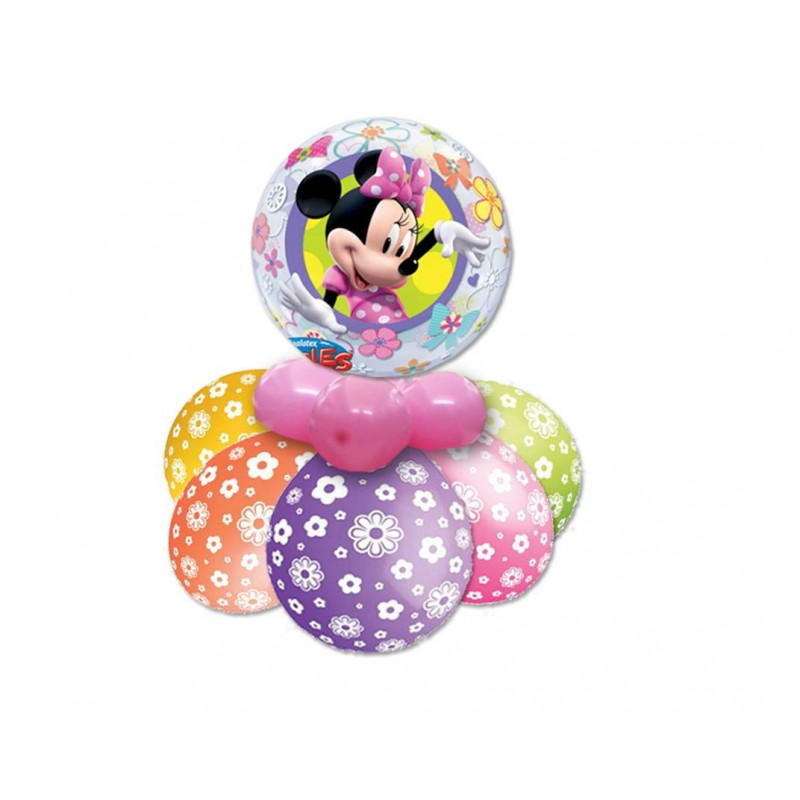 CENTROTAVOLA PALLONCINI MINNIE BUBBLE