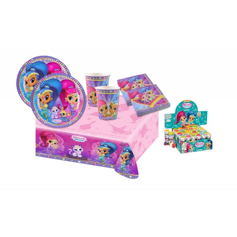 KIT N 5 - COORDINATO COMPLEANNO SHIMMER & SHINE