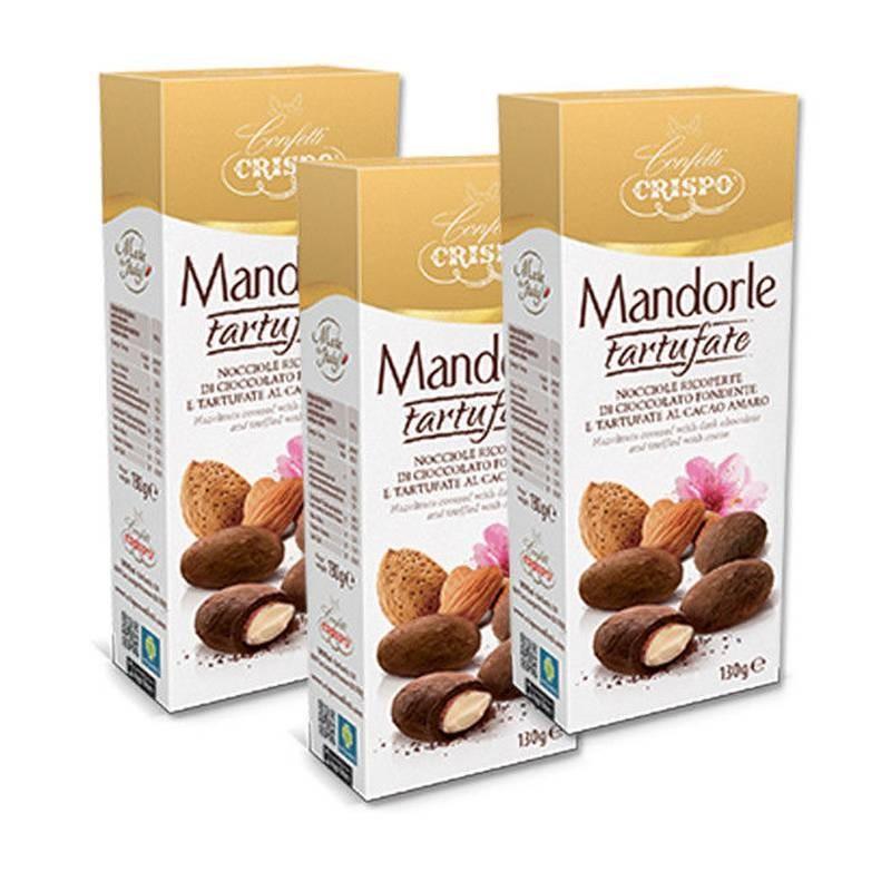 CRISPO - MANDORLE TARTUFATE - 3 CONFEZIONI