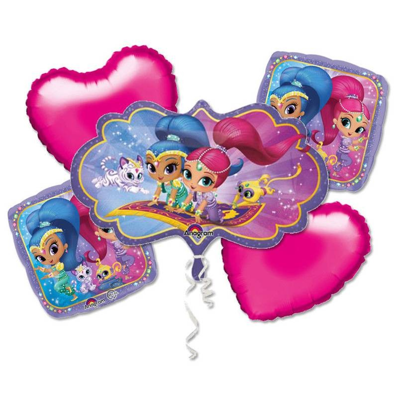 BOUQUET BALLOONS N.1 - SHIMMER & SHINE
