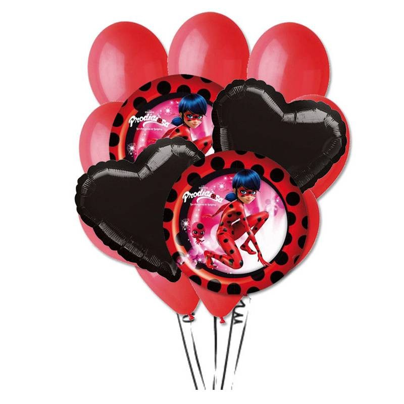 COMPOSIZIONE PALLONCINI N.9 LADY BUG