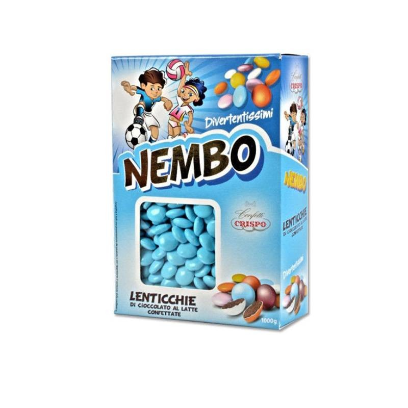 CRISPO CHOCOLATE LENTILS - NEMBO 1KG
