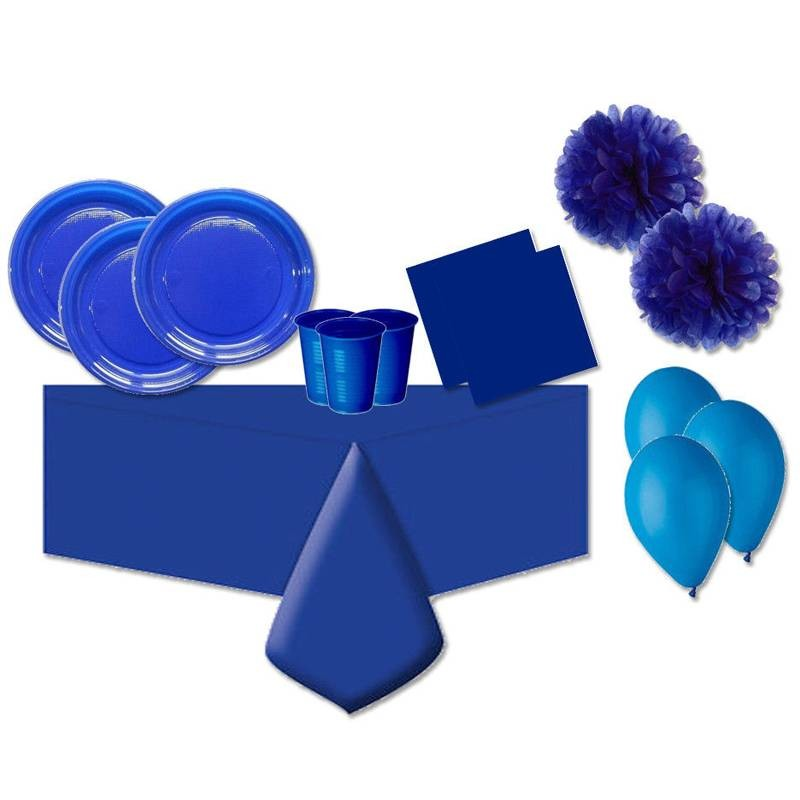 KIT N.56 SET PARTY - BLUE ONE COLORE