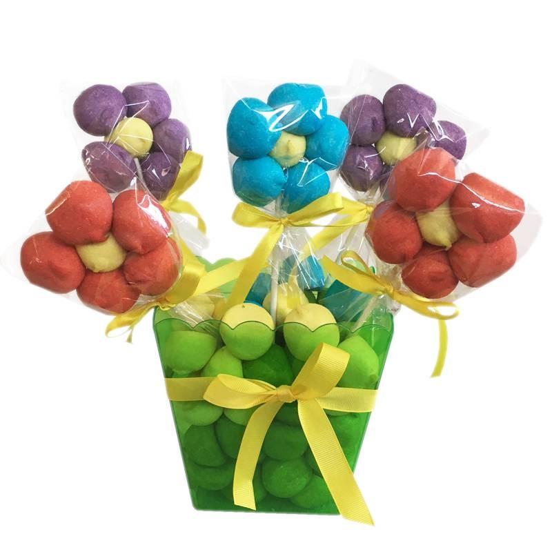 Spiedini di caramelle con contenitore for Casa di caramelle